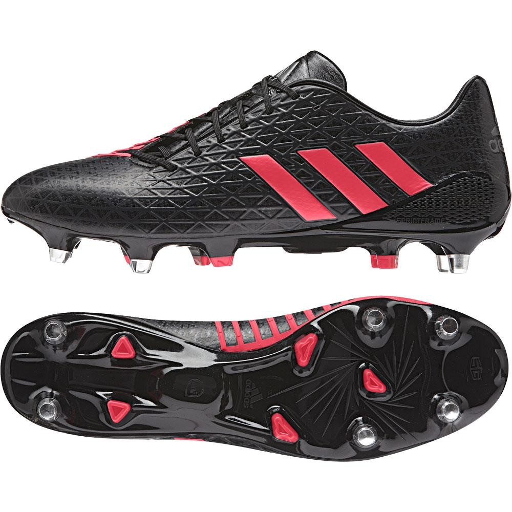 Adidas Predator Malice Soft Ground Rugby Boots Core Black