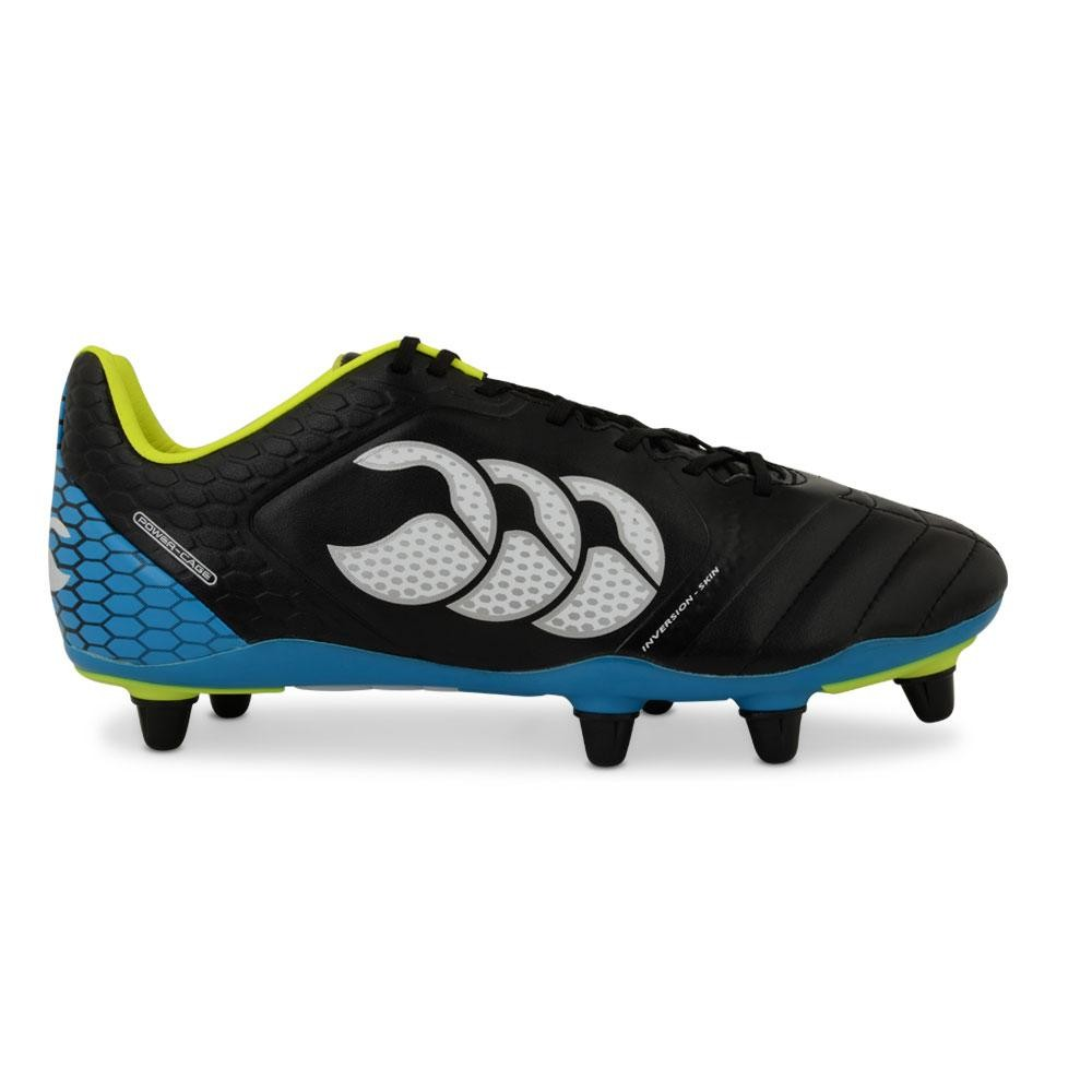 canterbury stede elite 8 stud rugby boots black