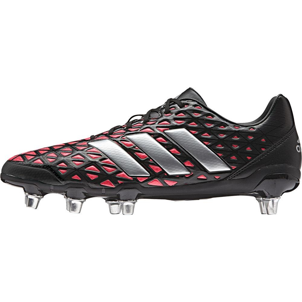 Adidas Kakari Elite Soft Ground Rugby Boots Core Black