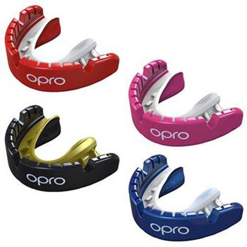 OPRO Self-Fit GEN4 Gold Braces Mouthguard