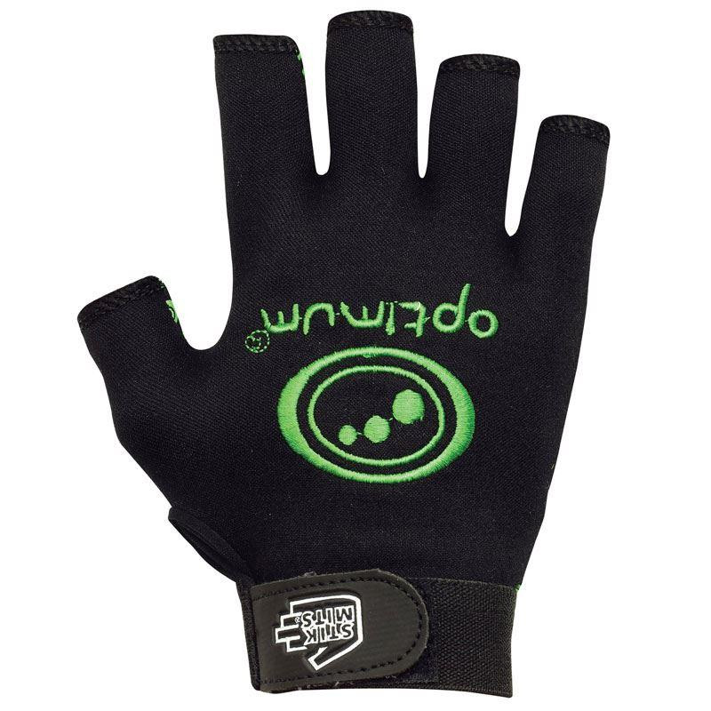 Optimum Stik Mit Green Half Finger Glove 2019