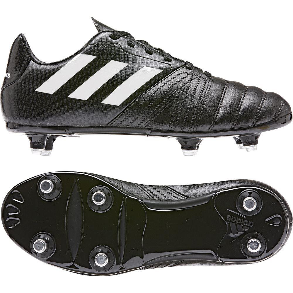 Adidas All Blacks Junior Rugby Boots Black/White/Black 2019