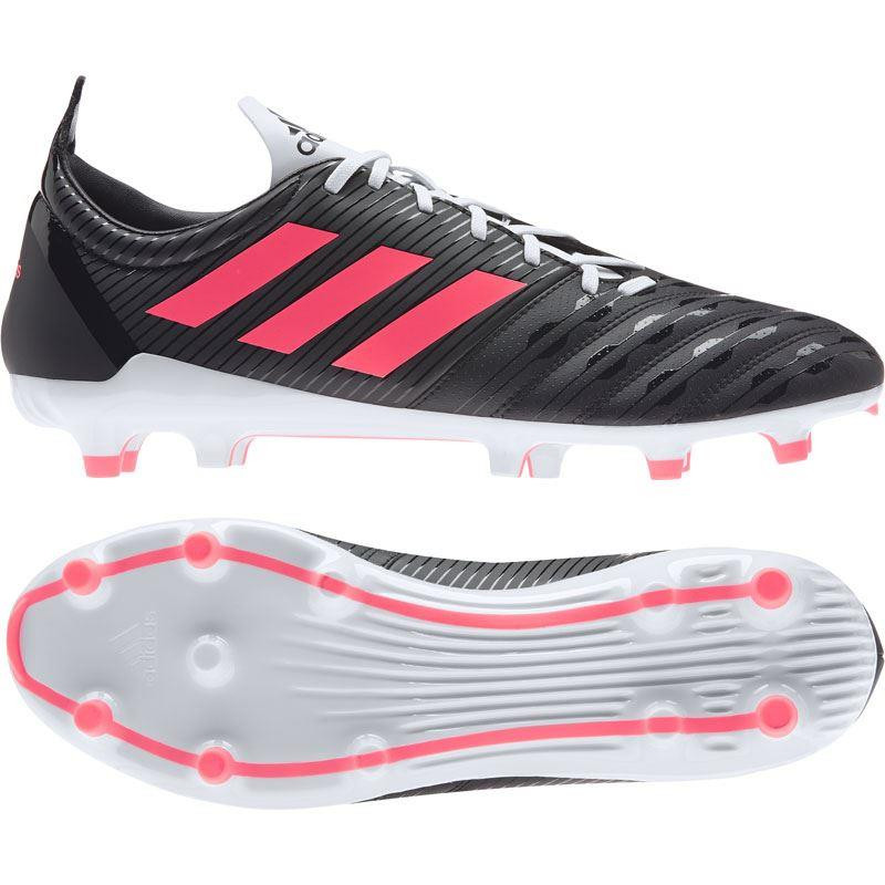 Adidas Malice Firm Gound Rugby Boots 2020 Black/Pink/White