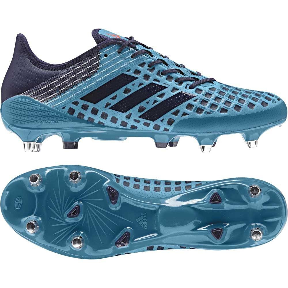 Adidas Predator Malice Soft Ground Rugby Boots Mystery Petrol 2017