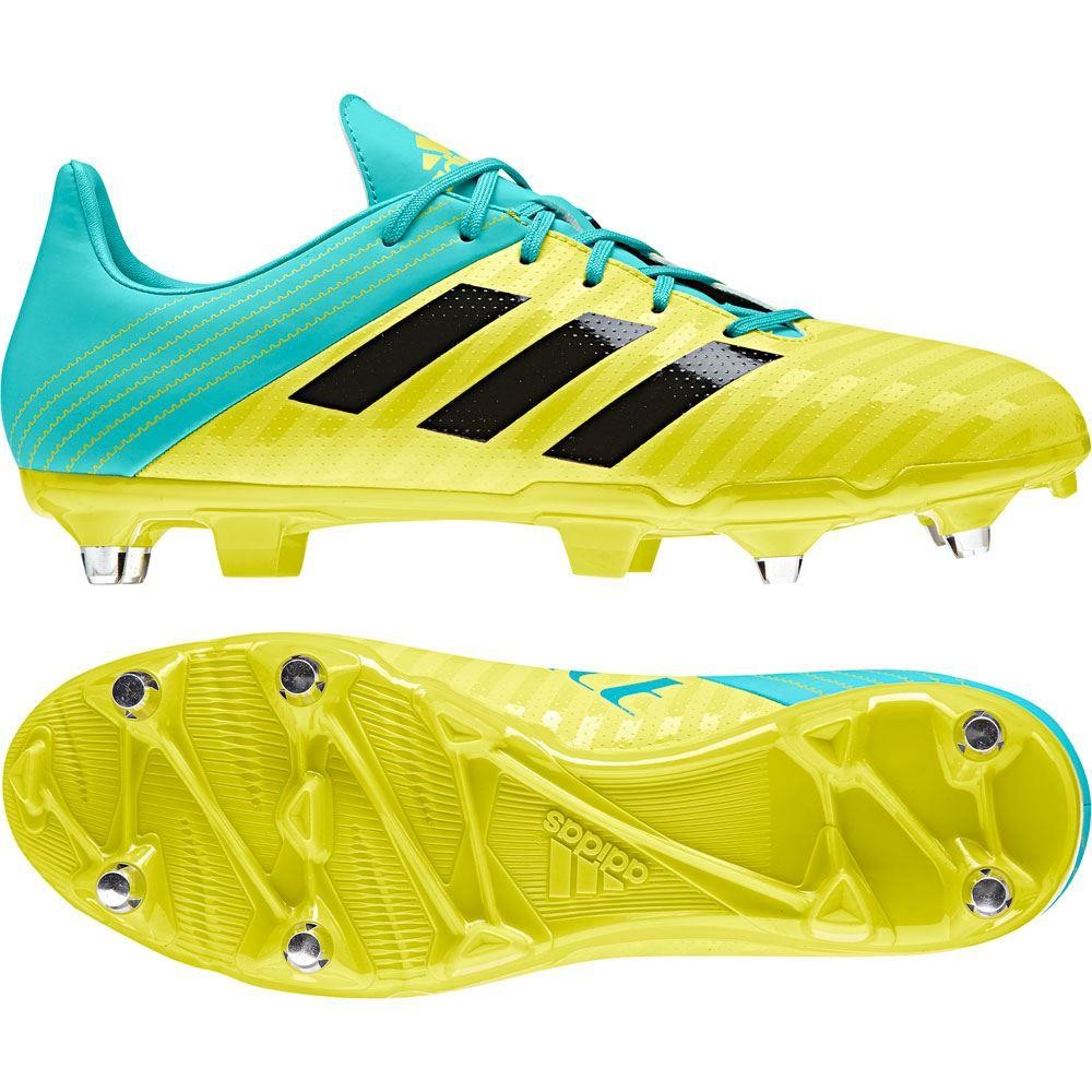 Adidas Malice SG Rugby Boots Shock Yellow 2018