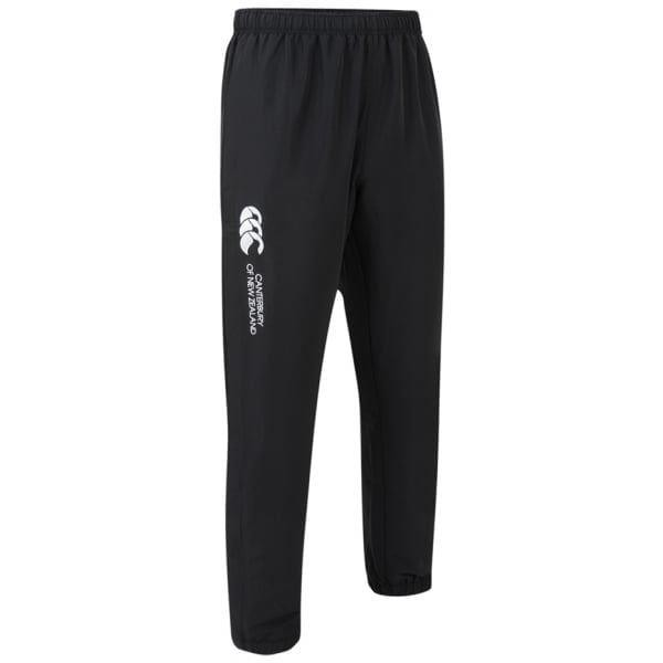 Canterbury Mens Cuffed Stadium Pant Black/White