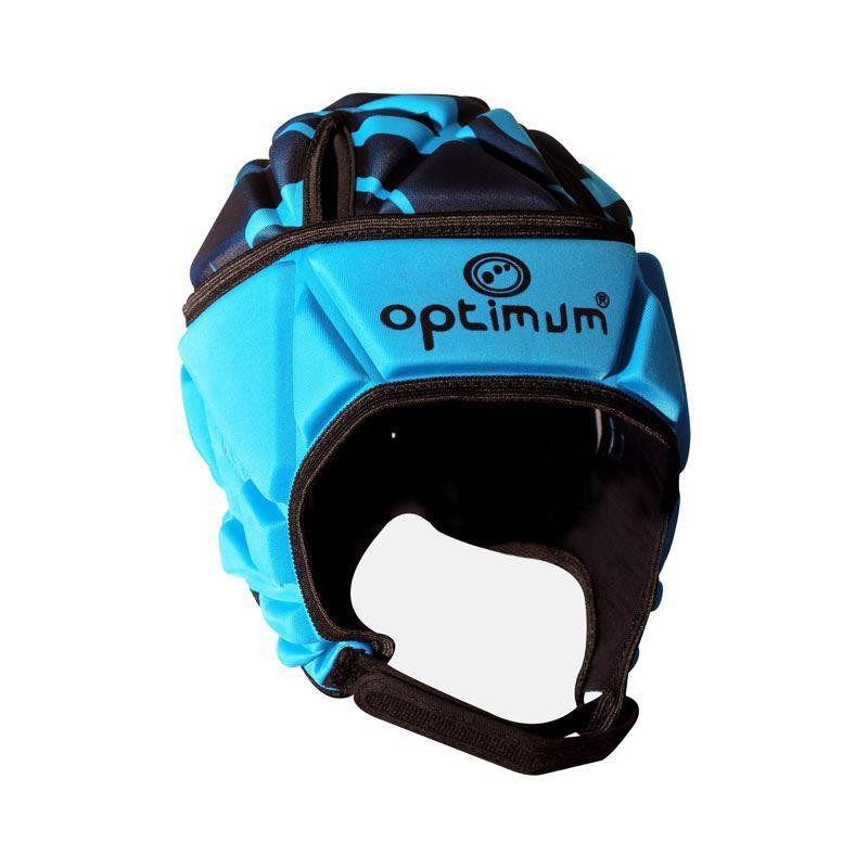 Optimum Junior Razor Headguard Cyan/Black 2019