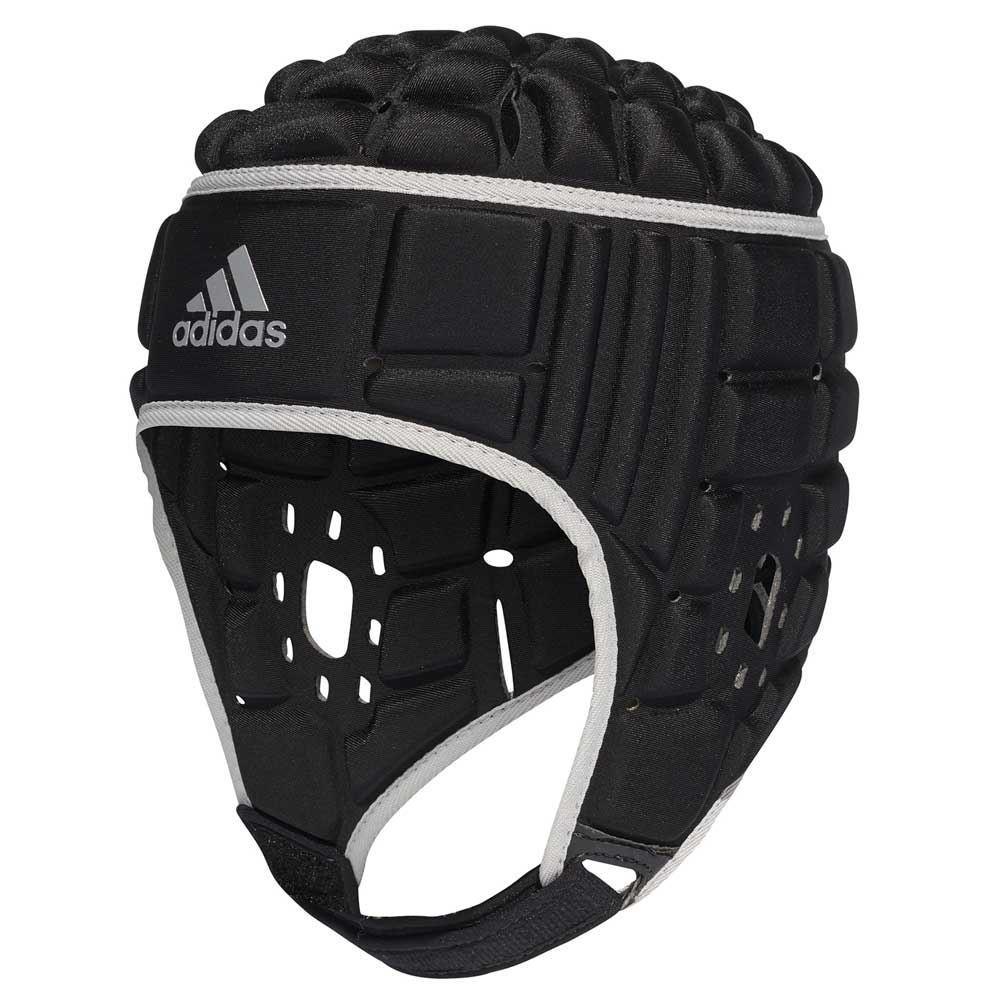 Adidas Rugby Headguard Black/Silver