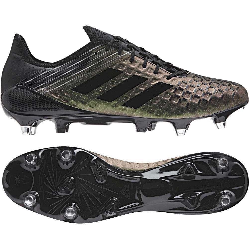Adidas Predator Malice Control Soft Ground Rugby Boots Core Black 2017