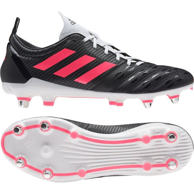 Adidas Malice Soft Gound Rugby Boots 2020 Black/Pink/White
