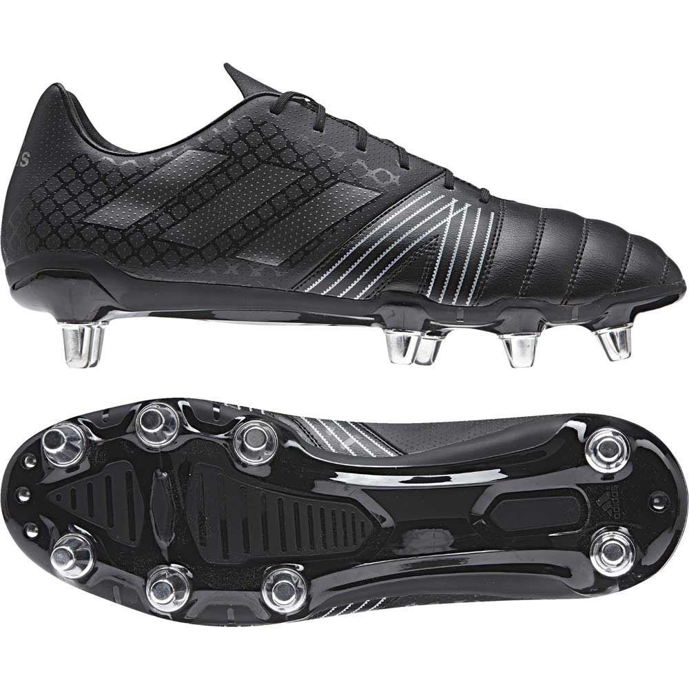 Adidas Kakari Soft Ground Rugby Boots Core Black 2017