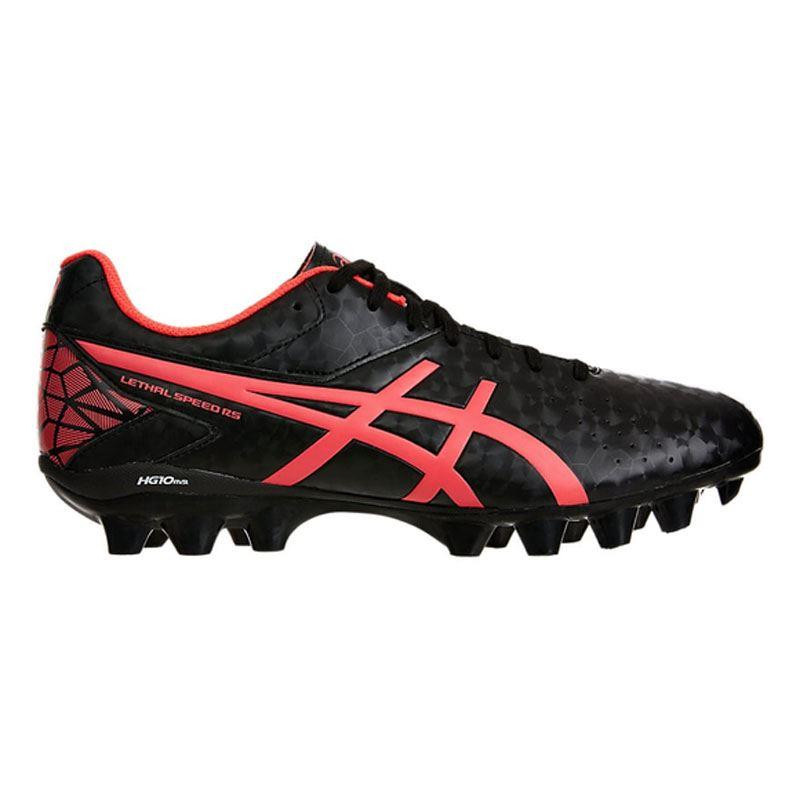 Asics Lethal Speed RS Rugby Boots Black/Diva Pink 2019