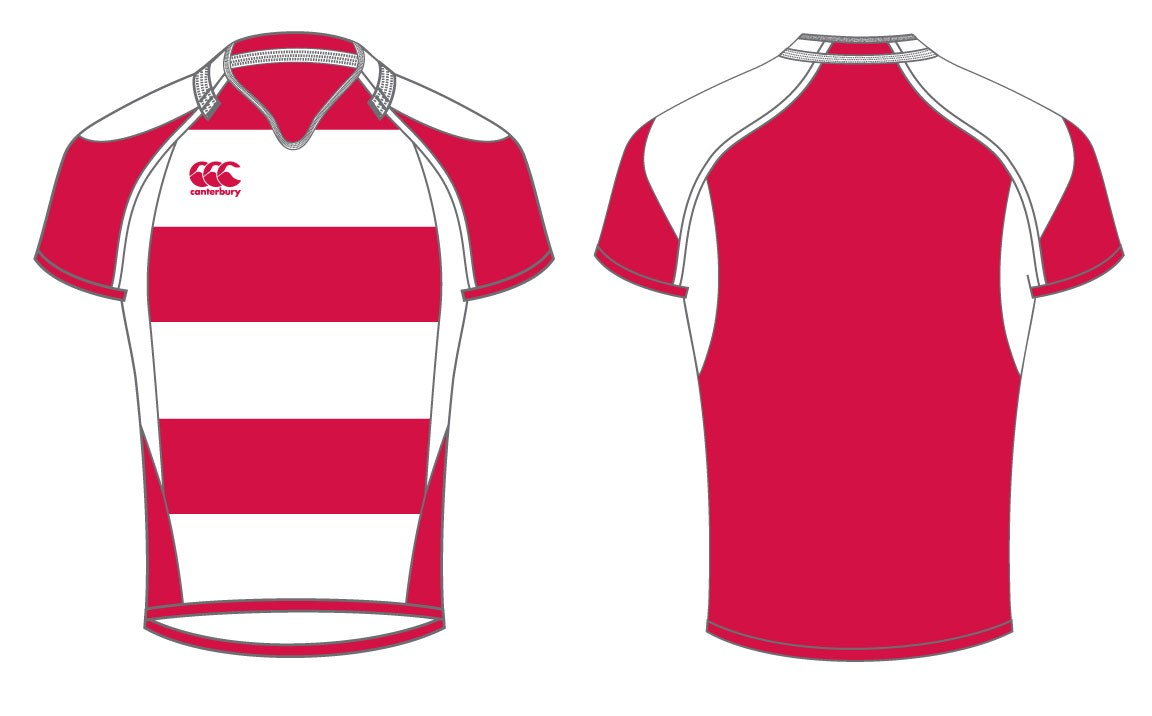 Canterbury Hooped Challenge Rugby Shirt
