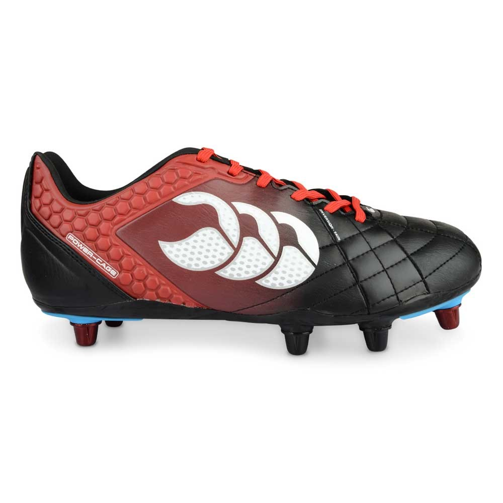 Canterbury Stampede Elite 8 Stud Boots Black/True Red 2015