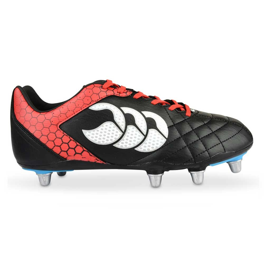 Canterbury Stampede Club 8 Stud Boots Black/True Red 2015