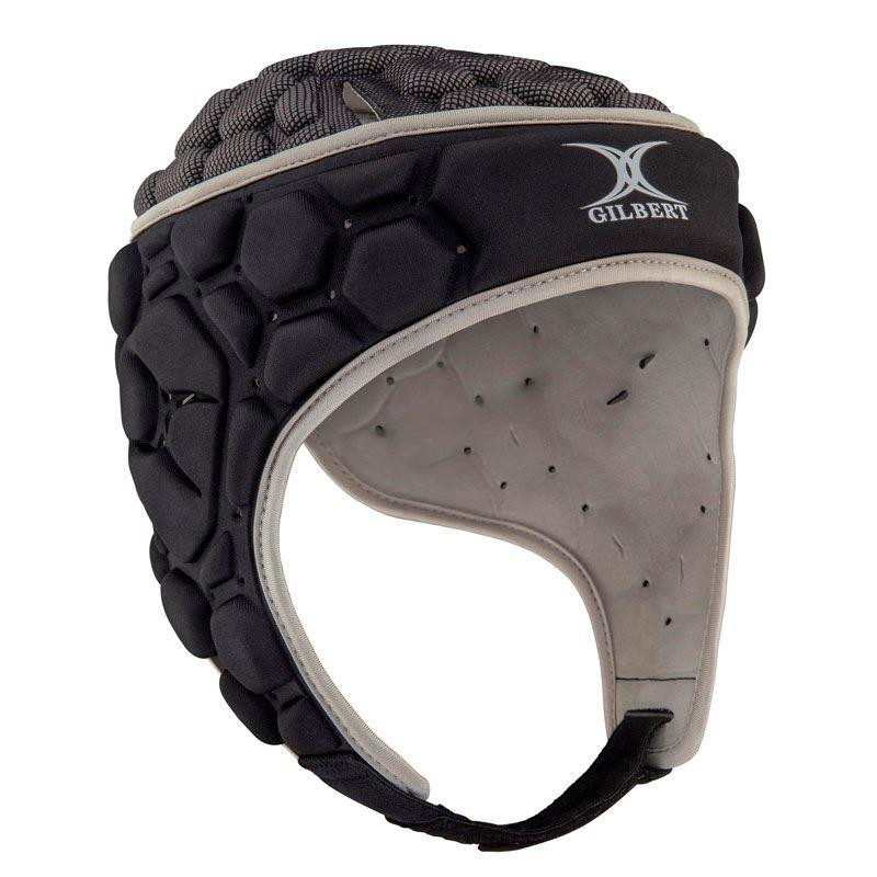 Gilbert Falcon 200 Senior Headguard Black/Silver 2019