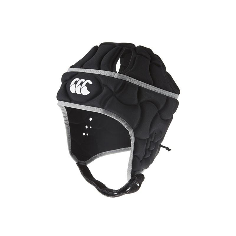 Canterbury Club Plus Headguard Kids - Black/Silver