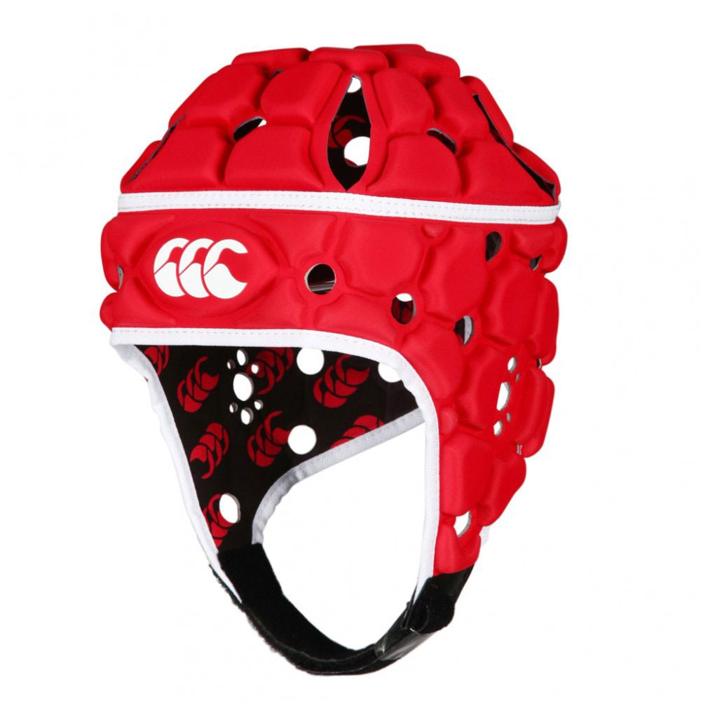 Canterbury Ventilator Headguard - True Red