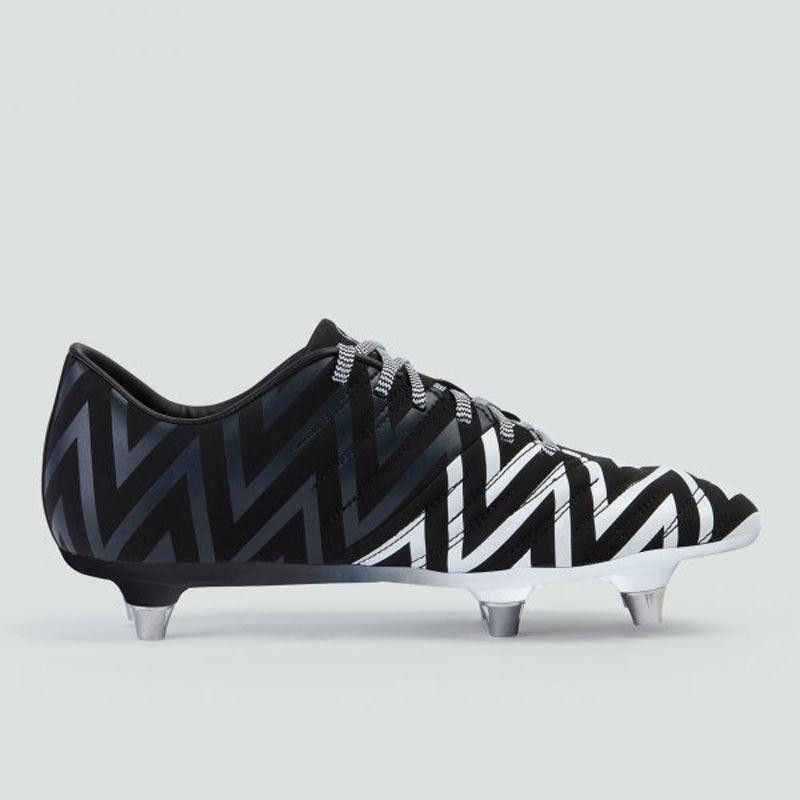 Canterbury Phoenix 2.0 SG Junior Rugby Boots Black/White 2019