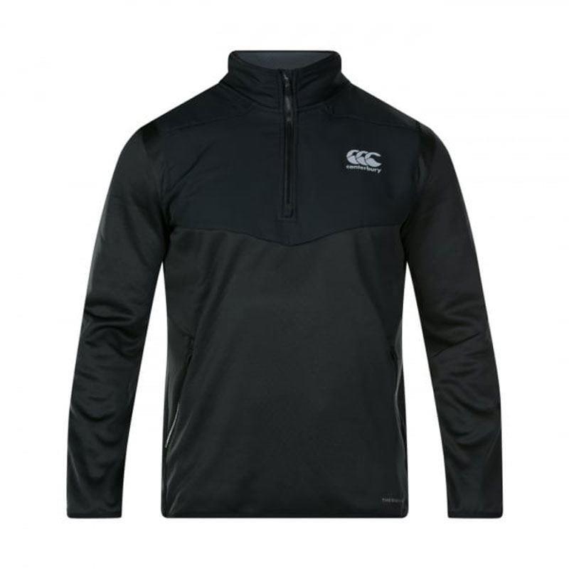 Canterbury Thermoreg Spacer Fleece 1/4 Zip Black 2019