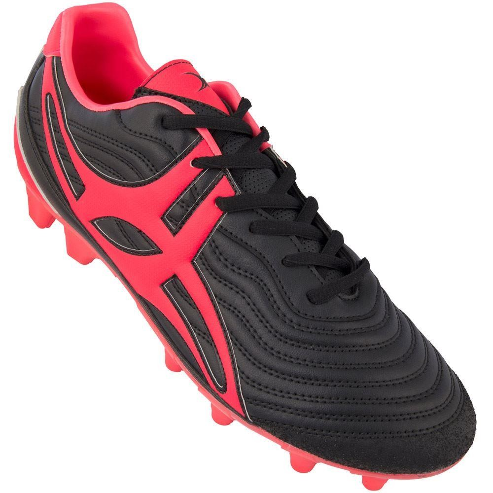 Gilbert Side Step V1 LO MSX Junior Hot Red Rugby Boot 2018