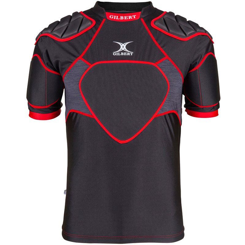 Gilbert XP 300 Senior Body Armour Black/Red 2019