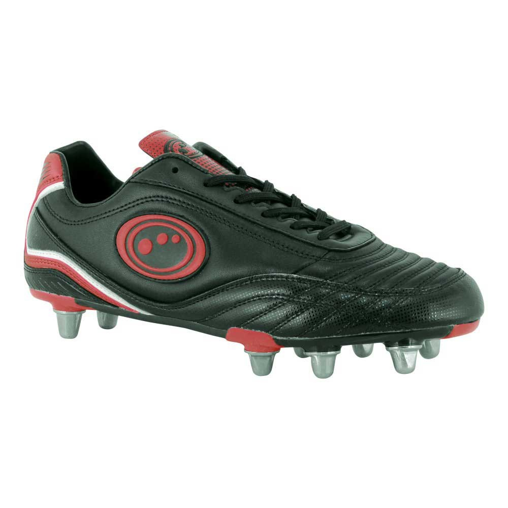 Optimum Inferno 3.0 Rugby Boots Black/Red