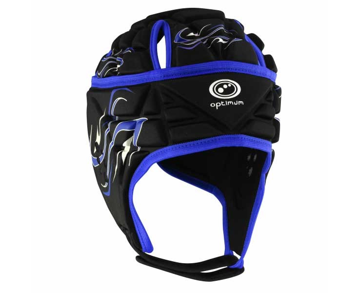 Optimum Junior Inferno Headguard Black Blue