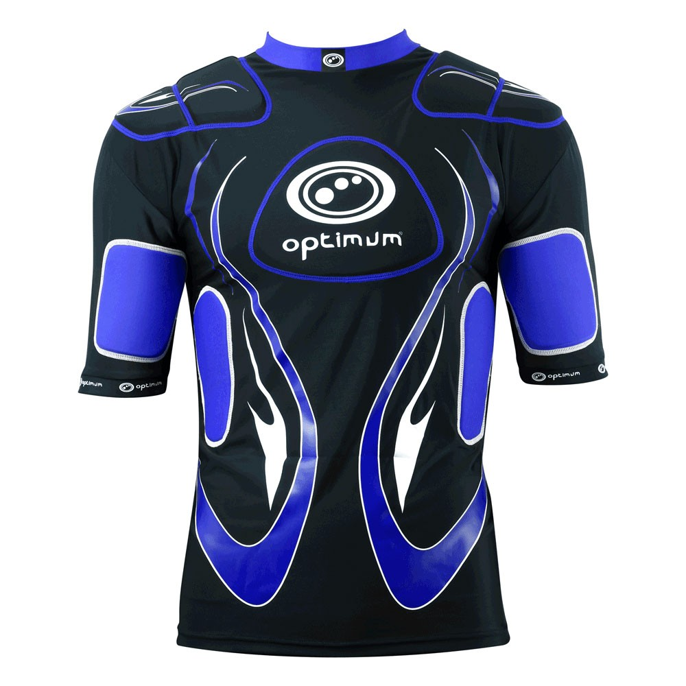 Optimum Junior Inferno Body Armour Black Blue
