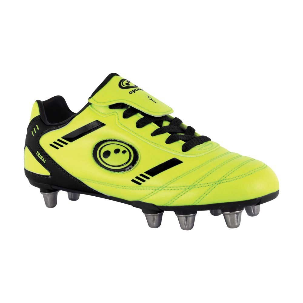 Optimum Tribal Rugby Boots Fluro/Black