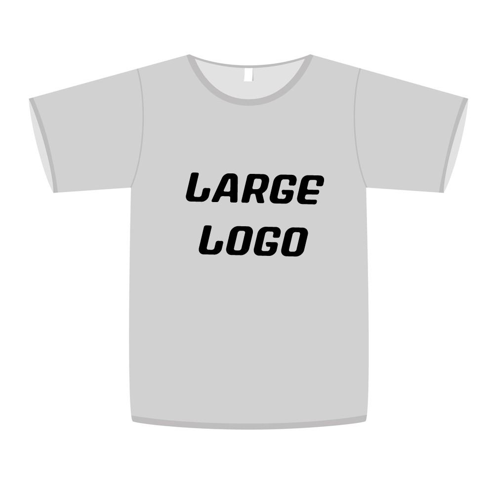 Single Colour Large Printed Sponsors Logo