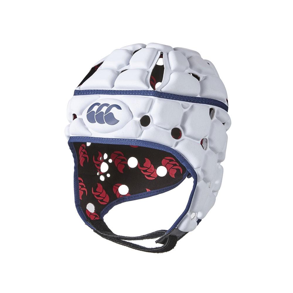 Canterbury Ventilator Headguard - Bright White
