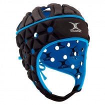 Gilbert AIR Senior Headguard Black/Blue