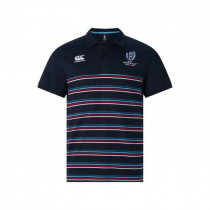 Canterbury RWC19 Cotton Jersey Polo AM Navy Blazer 2019