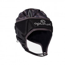 Optimum Junior Razor Headguard Black/Silver 2019