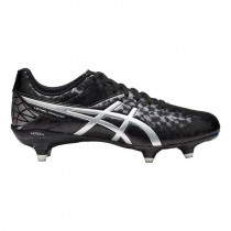 Asics Lethal Speed ST Rugby Boots Black/Silver 2019