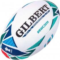 Gilbert Replica RWC 2019 Mini Rugby Ball