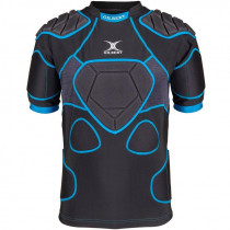 Gilbert XP 1000 Senior Body Armour Black/Blue 2019