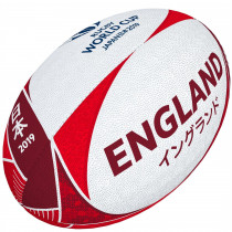Gilbert RWC 2019 England Supporters Rugby Ball #Size 5