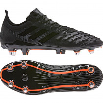 Adidas Predator XP (SG) Rugby Boots Core Black/Orange
