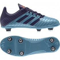 Adidas Malice Junior Soft Ground Rugby Boots Tactile Steel 2017