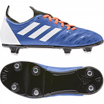Adidas Malice Junior Rugby Boots Blue/White/Solar Orange 2019