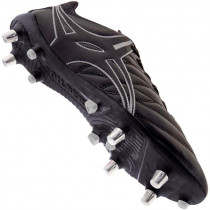 Gilbert Kaizen 1.0 PWR 6S Rugby Boot Black 2019