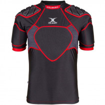 Gilbert XP 300 Junior Body Armour Black/Red 2019