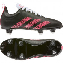 Adidas Kakari Soft Ground Junior Rugby Boots 2020 Black/Pink/White