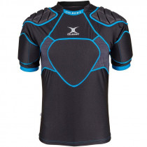 Gilbert XP 300 Senior Body Armour Black/Blue 2019