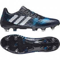 new style 71e21 55fdf Adidas Predator Malice SG Rugby Boots Navy Silver Blue 2016
