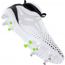 Gilbert Shiro PRO 6 Stud White Rugby Boot 2018