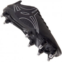 Gilbert Kaizen 2.0 PWR 8S Rugby Boot Black 2019