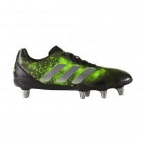 Adidas Kakari SG Rugby Boots Black/Silver/Green 2016